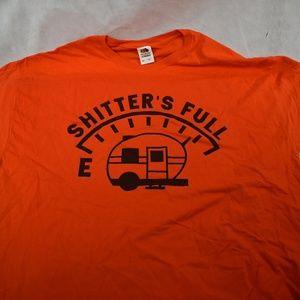 Shitter's Full Graphic t shirt